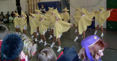2009 Rosenmontag in der Schule