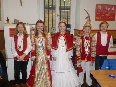 2017 Karneval in der Ursulinenschule