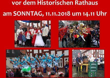 2018 Prinzenpaarproklamation (Ankündigung)