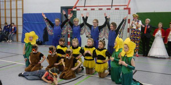 2019 Rosenmontag in der Schule am Tor