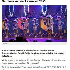 2021 Karneval in Nordhessen